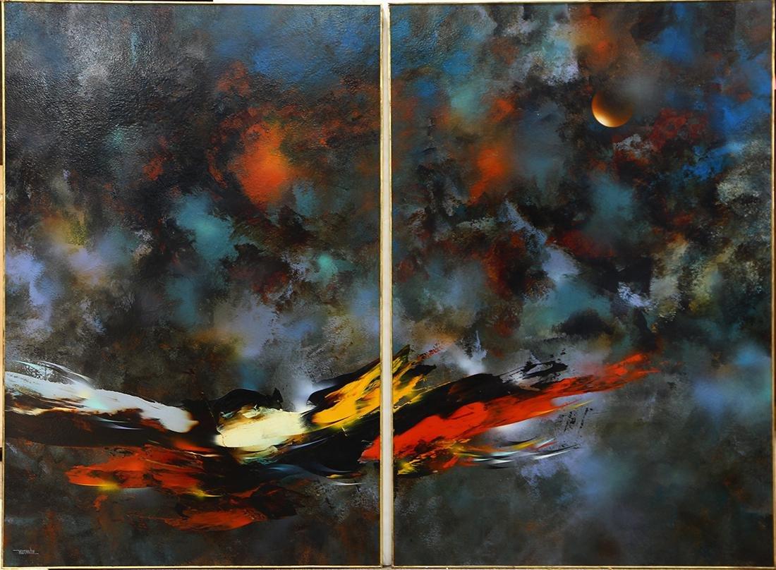 Paintings, Leonardo Nierman