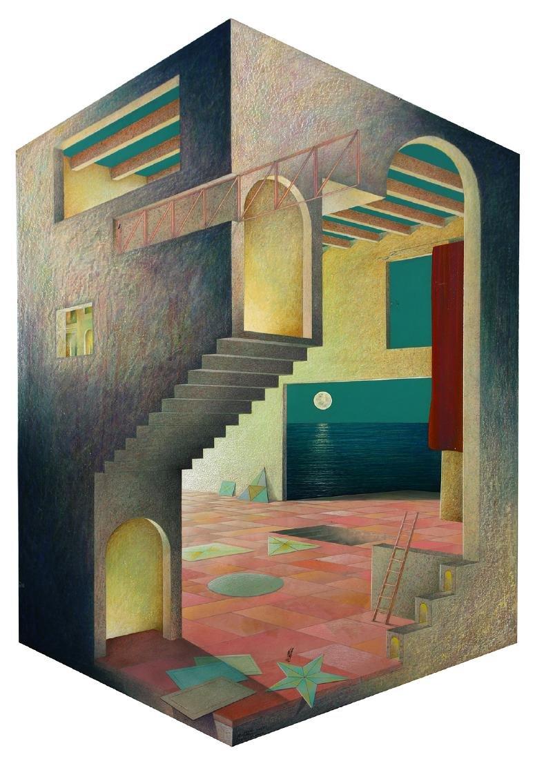 Painting, Roberto Ortega Guerrero