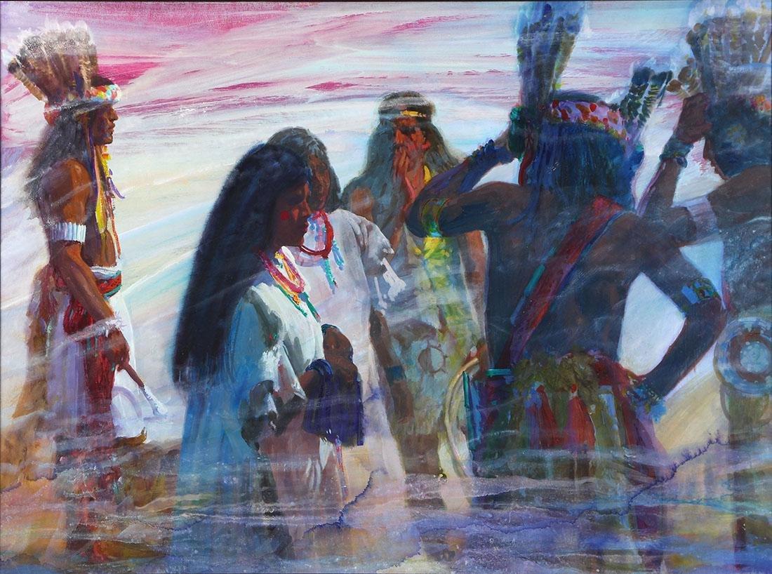Painting, Donald Putman
