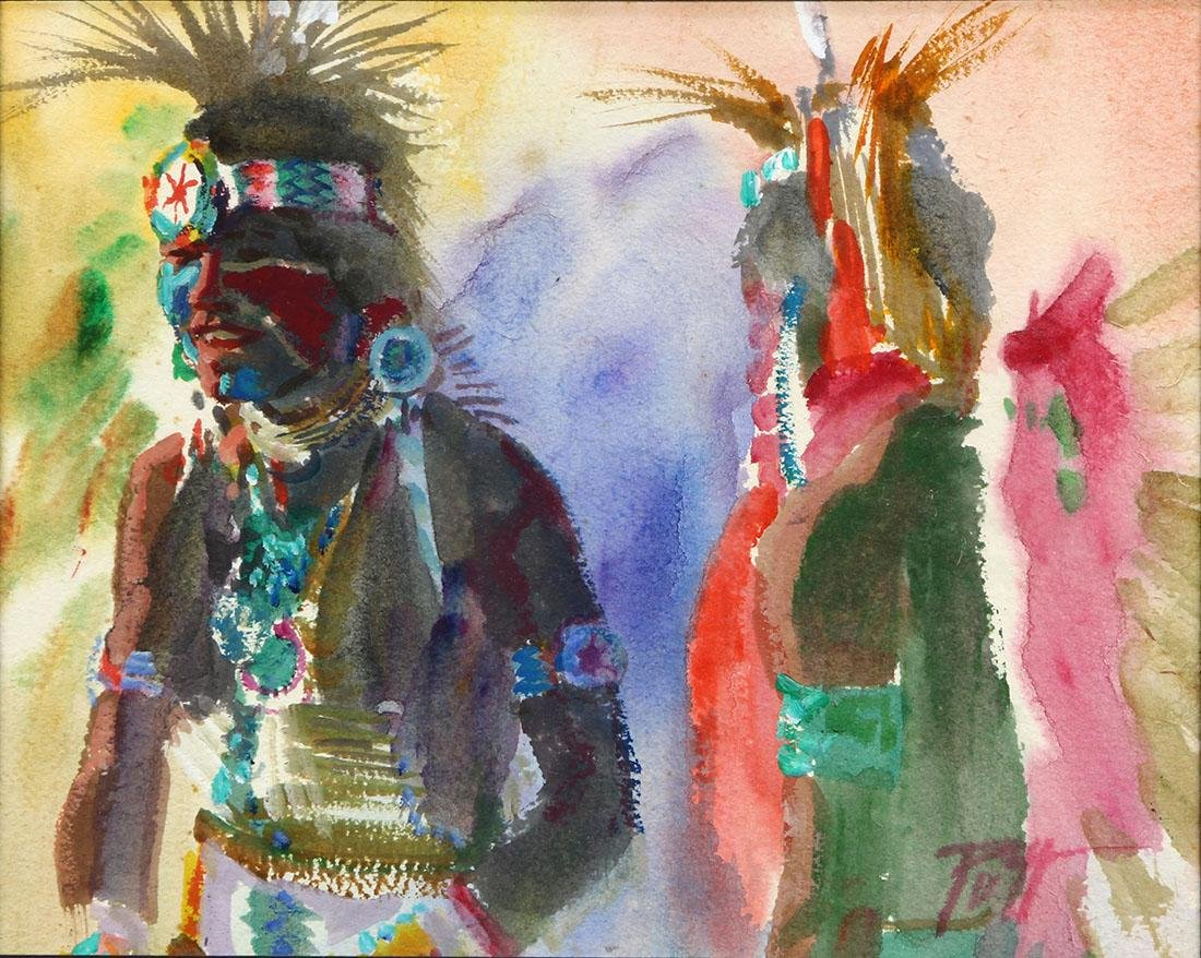 Watercolor, Donald Putman