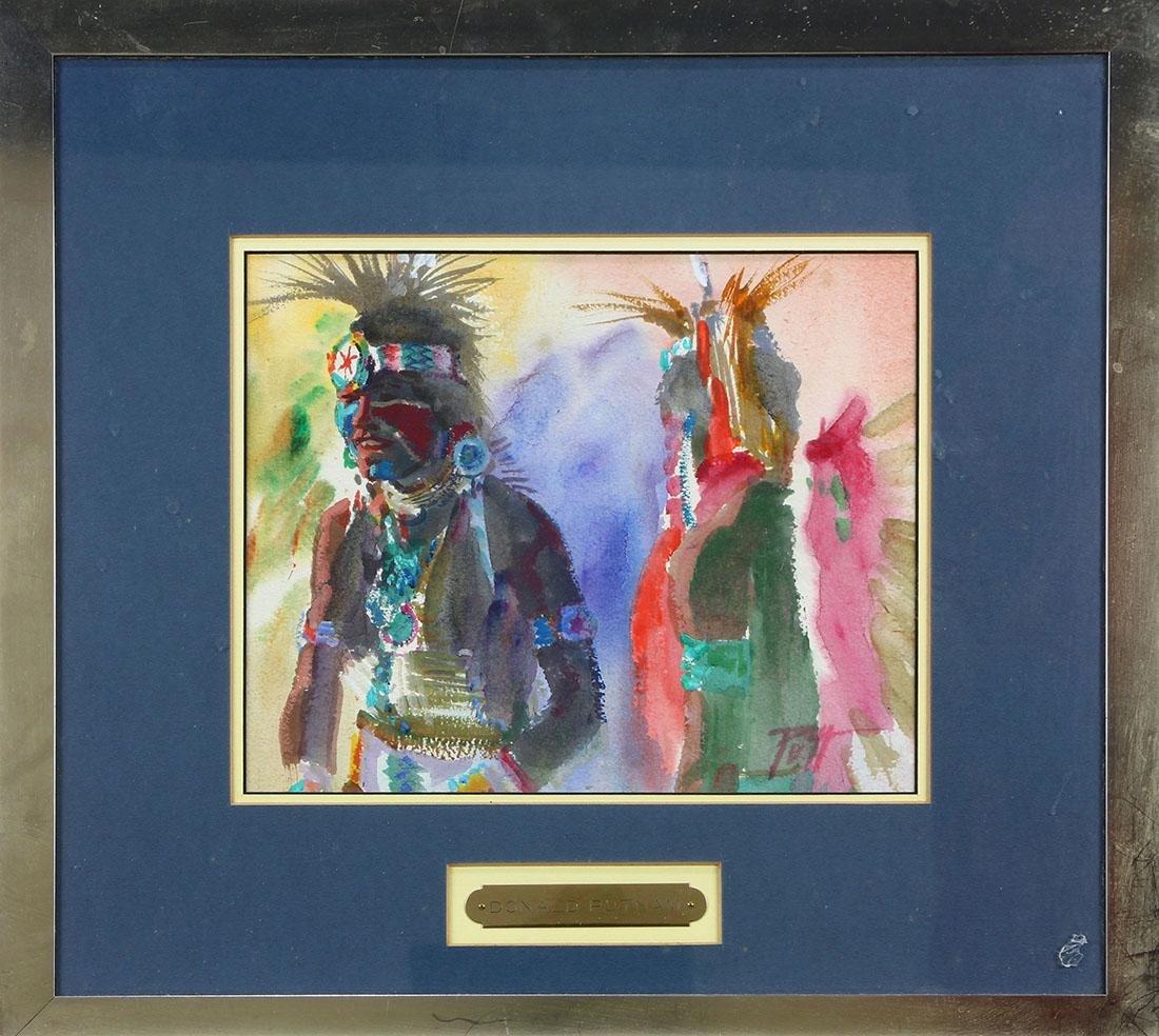 Watercolor, Donald Putman - 3