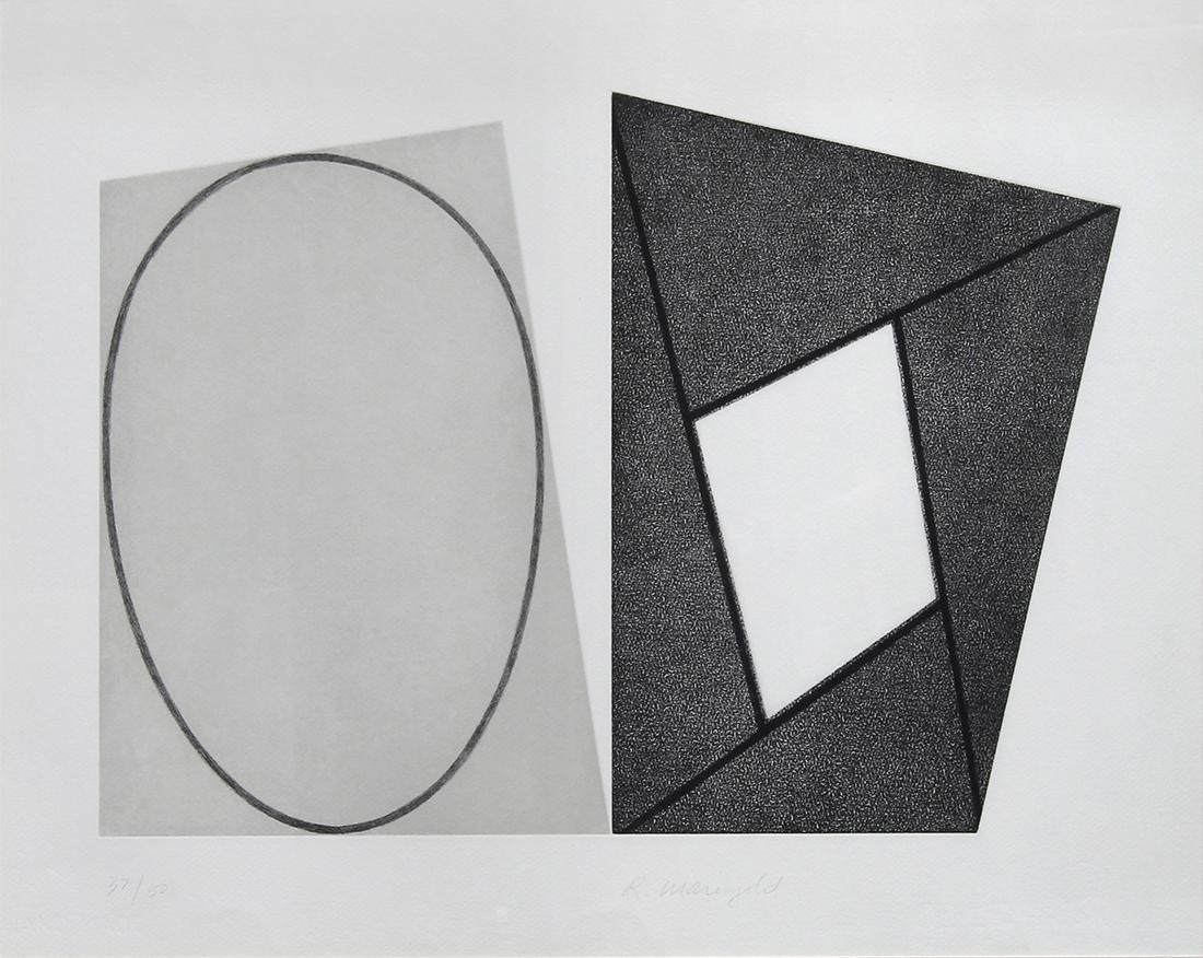 Print, Robert Mangold