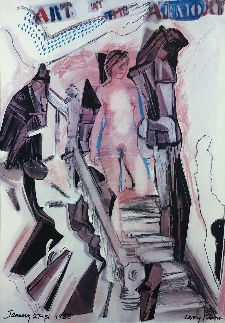 Print, Larry Rivers