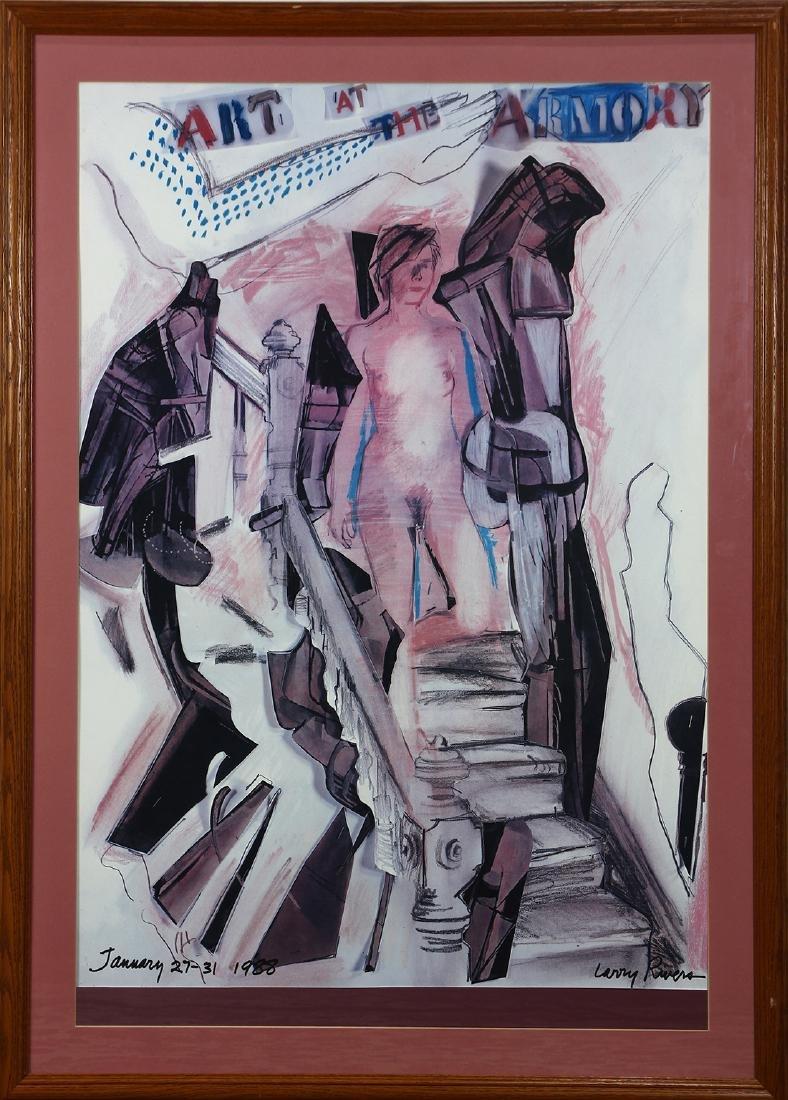 Print, Larry Rivers - 2