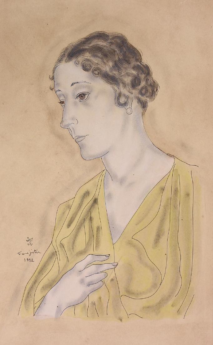 Print, Leonard Tsuguharu Foujita