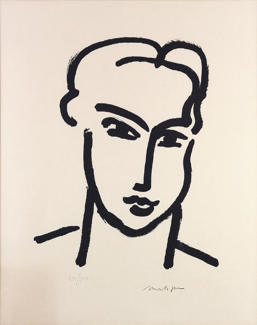 Print, Henri Matisse