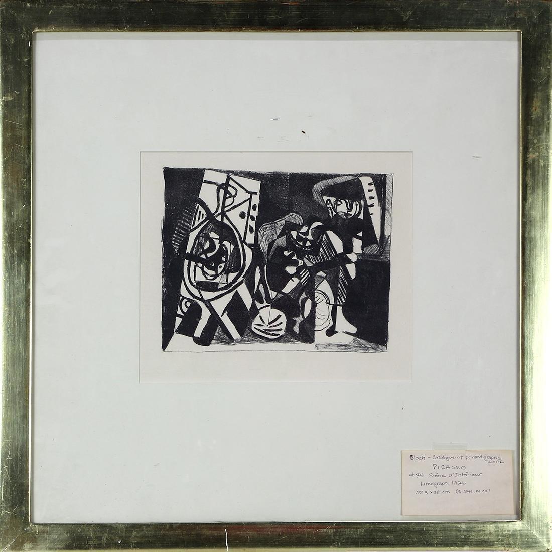 Print, Pablo Picasso - 2