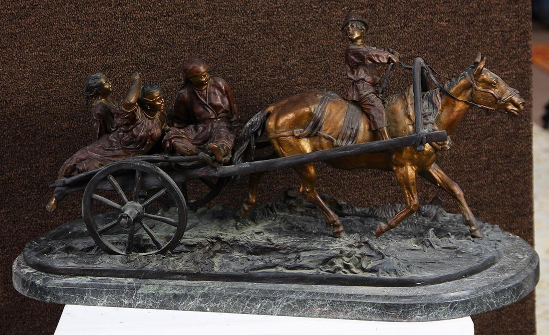 Sculpture, After Eugene Alexandrovich Lanceray