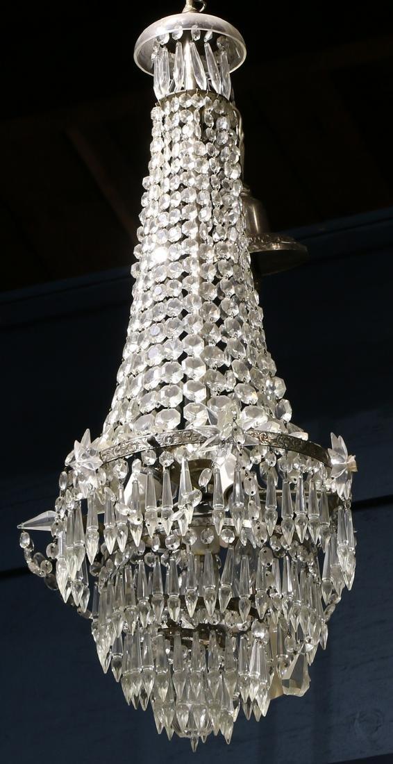 French foyer chandelier