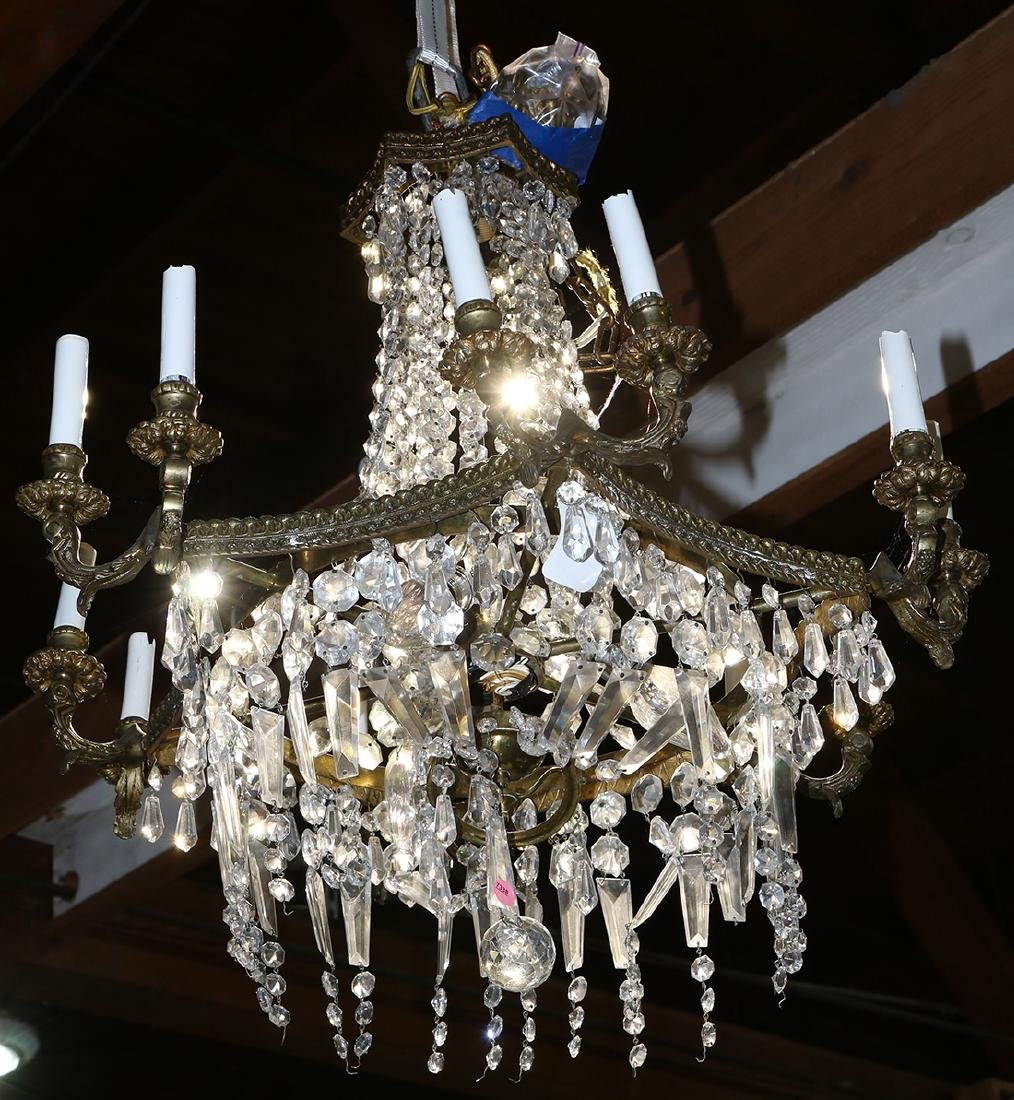 Continental crystal chandelier - 3