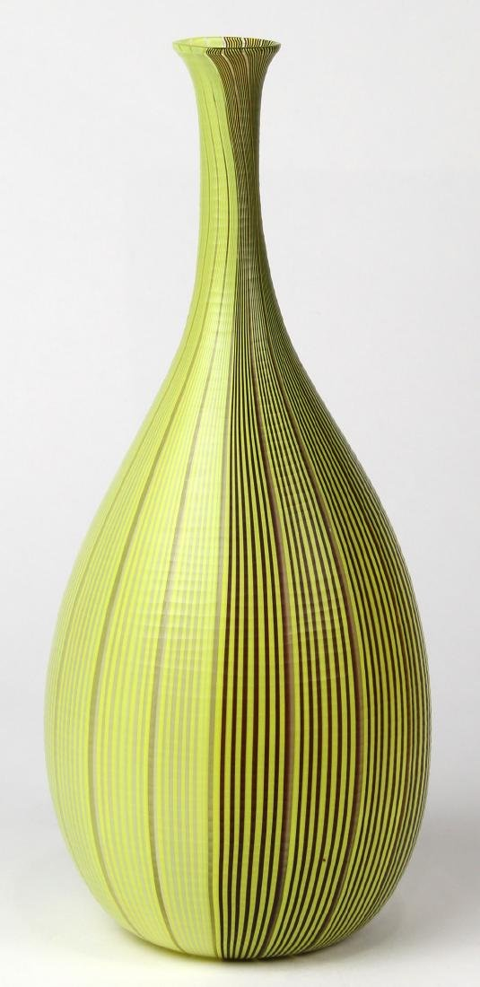 "Carlo Scarpa for Venini wheel cut ""Tessuto"" vase"