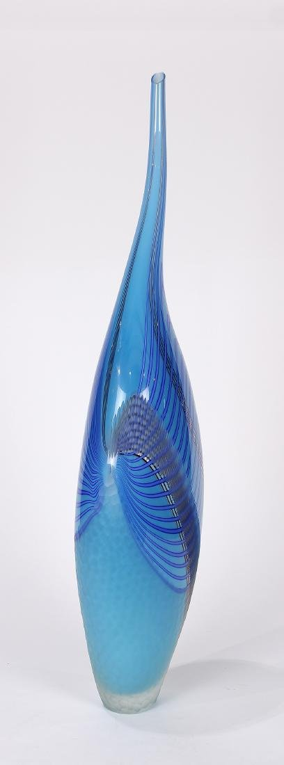 Alfo Celotto 'Dinosaur' vase 2005, executed in clear - 3