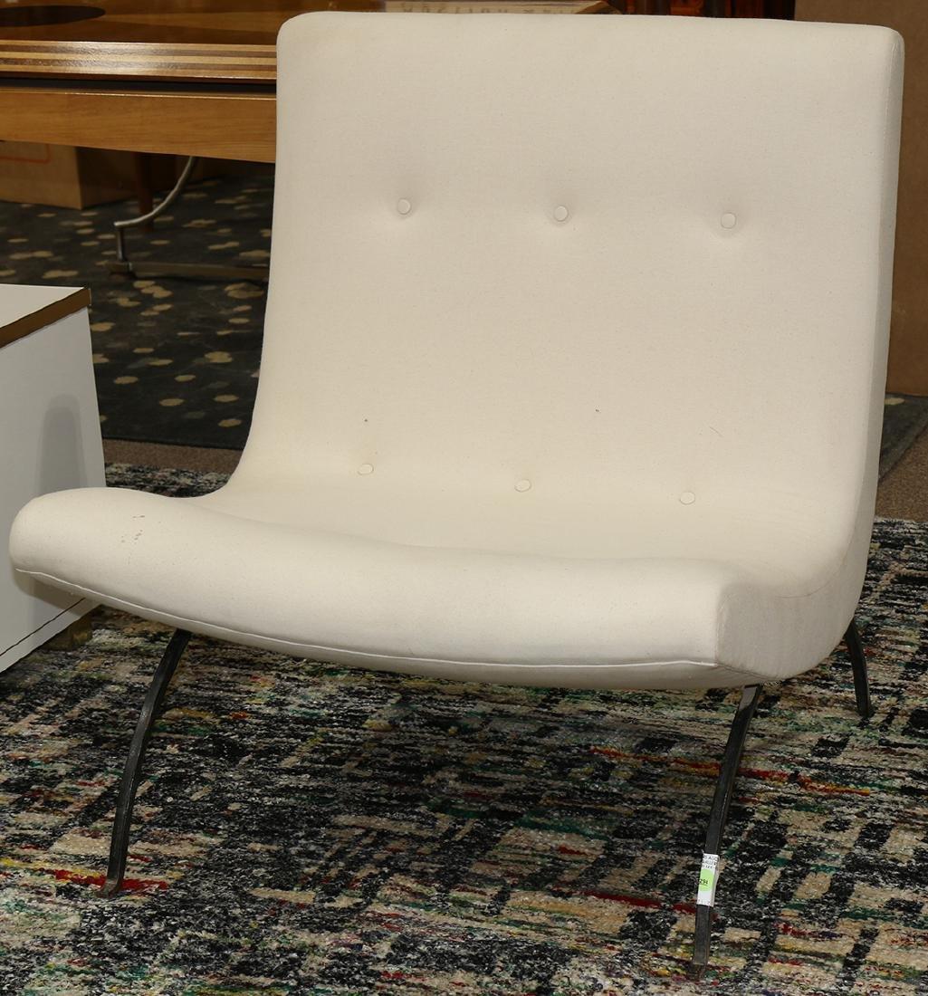 Milo Baughman for Thayer Coggin scoop chair circa 1960