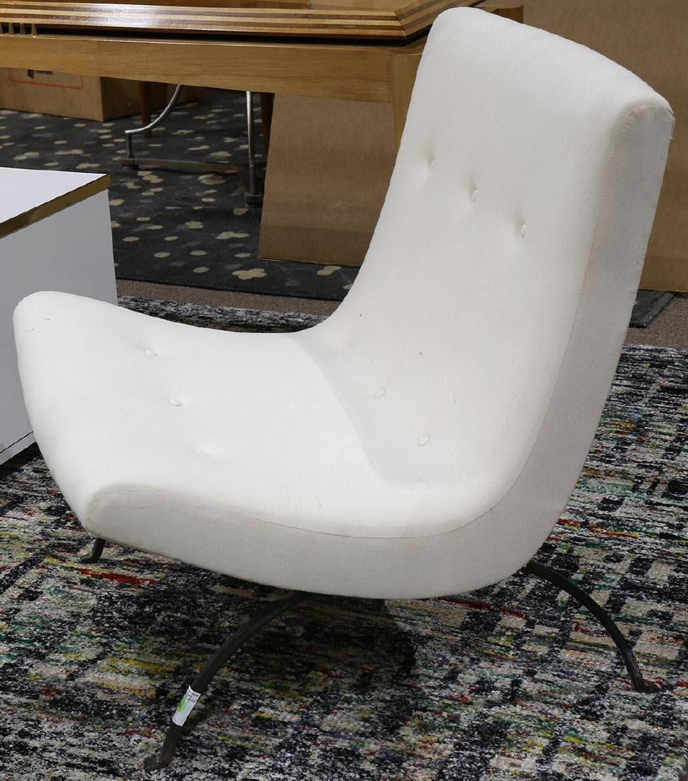 Milo Baughman for Thayer Coggin scoop chair circa 1960 - 2