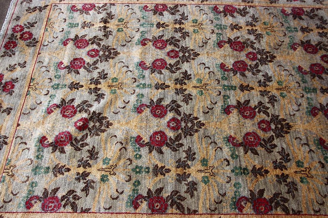 William Morris Arts and Crafts style carpet - 2