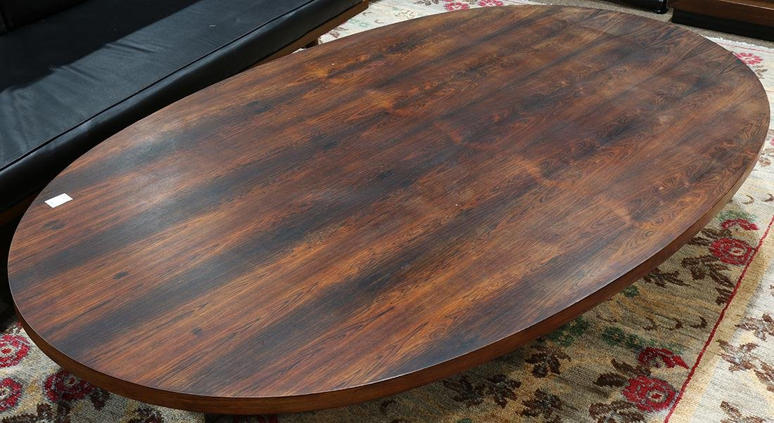 Modern rosewood low table - 2
