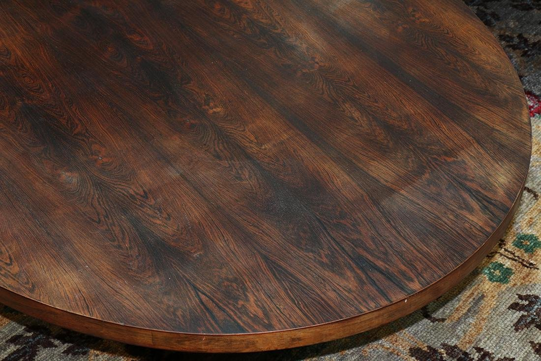 Modern rosewood low table - 3