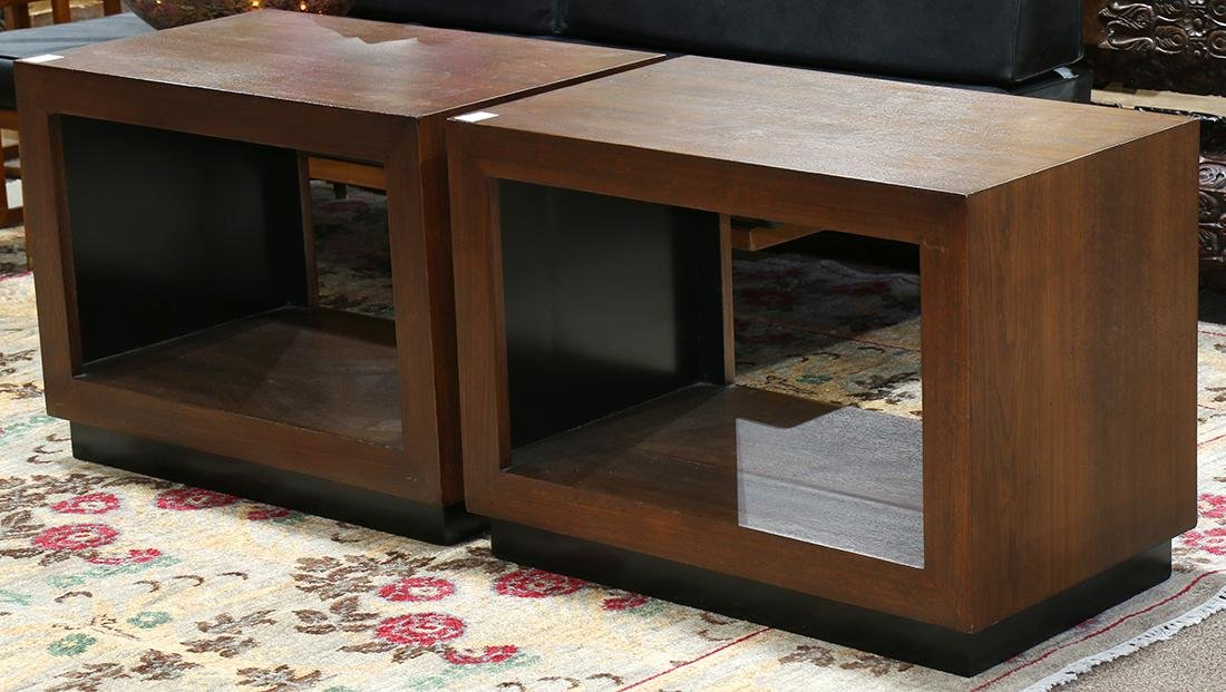 Pair of Modernist occasional tables, Harvey Probber