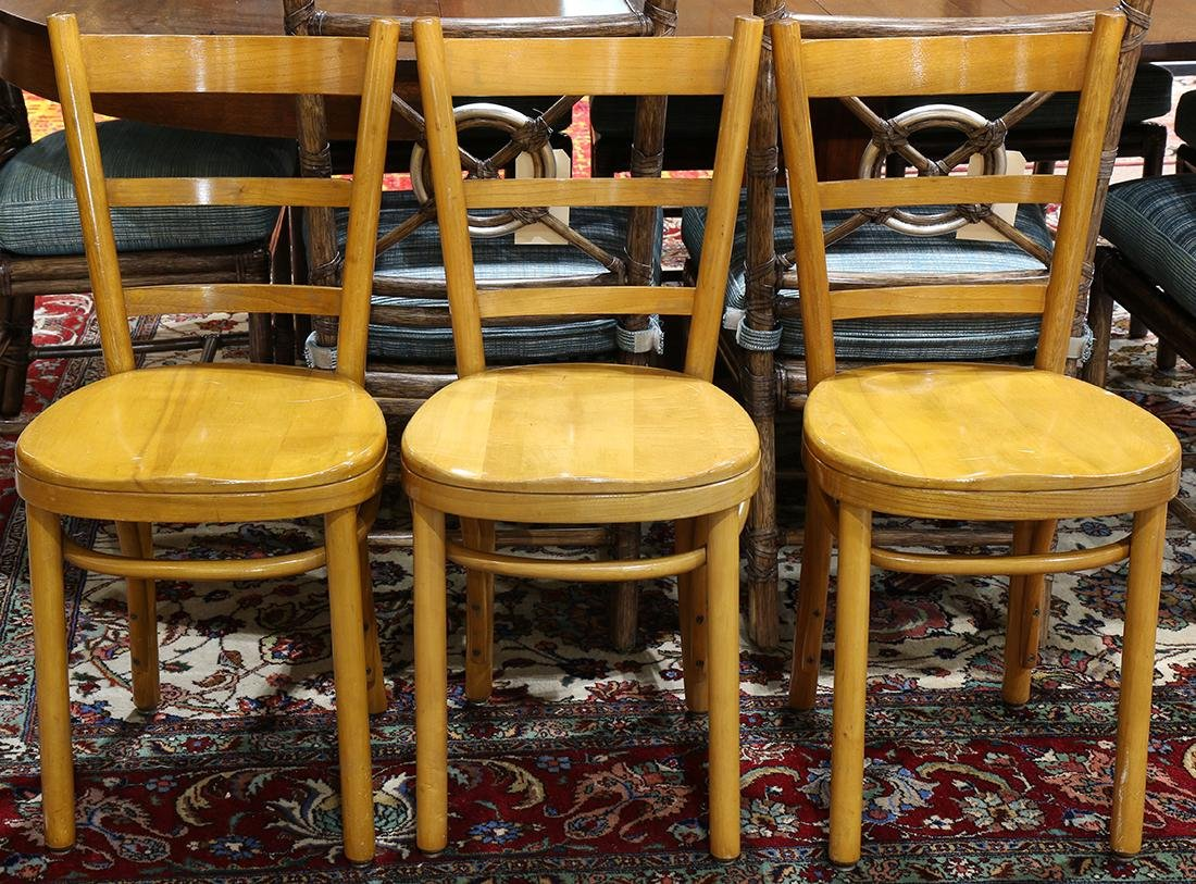 (lot of 3) Thonet bentwood chairs