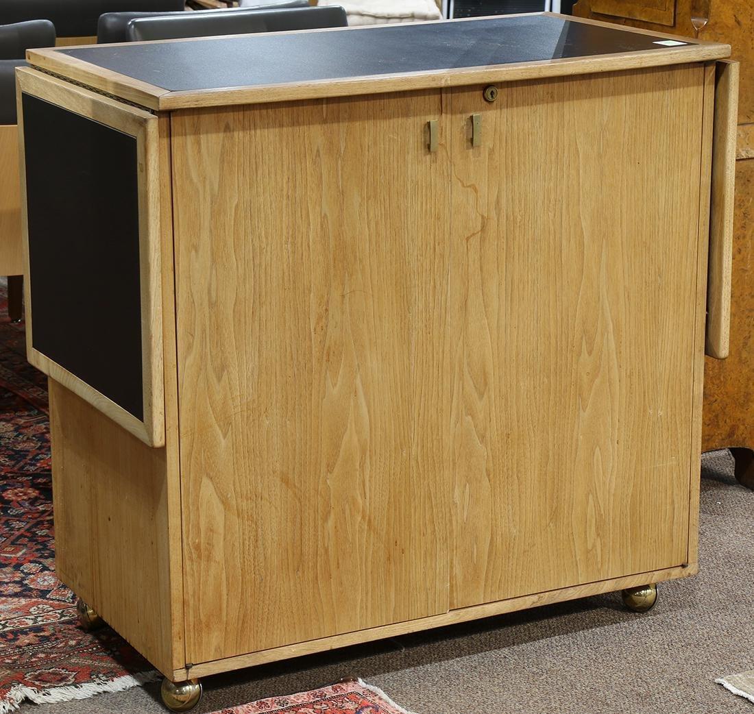 McGuire modular bar cabinet