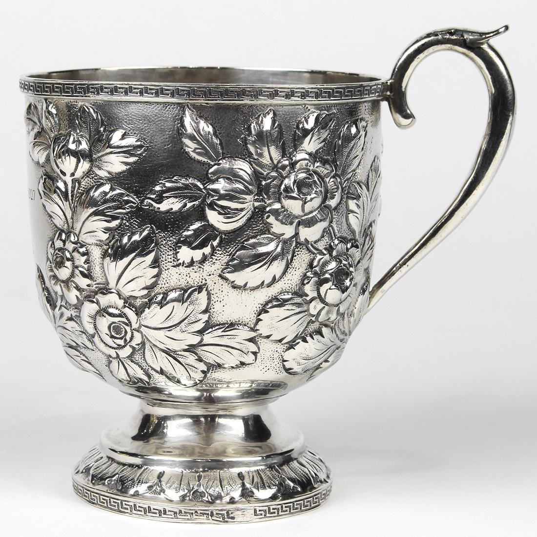 S. Kirk & Son silver wine cup