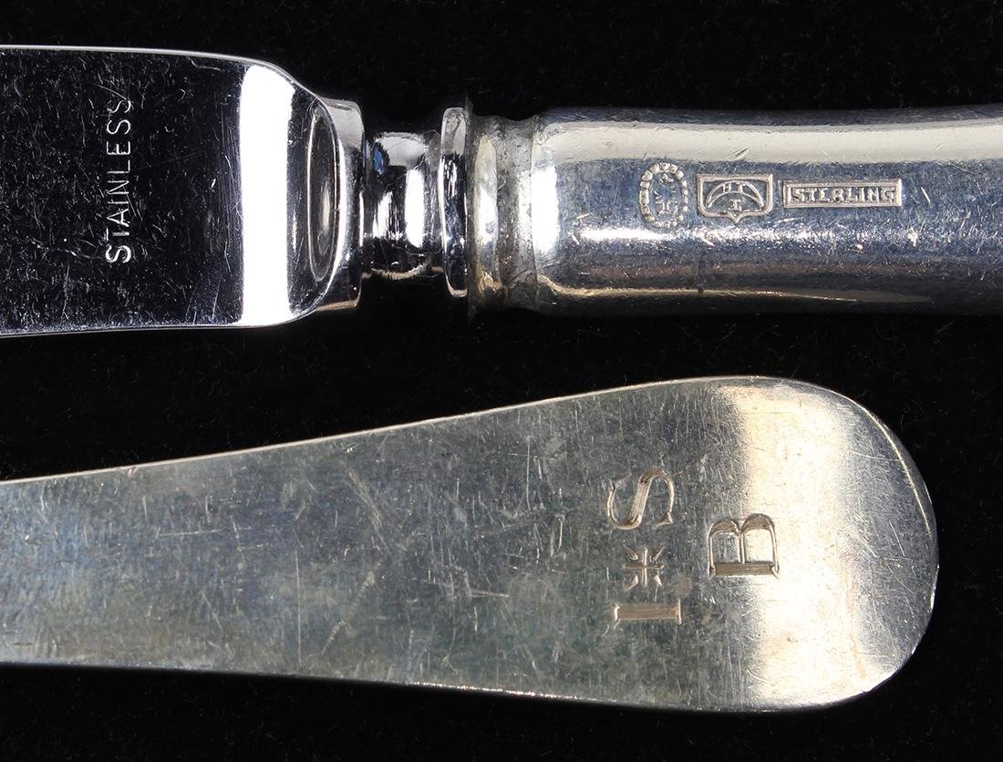 (lot of 94) Tuttle sterling silver flatware service, - 2