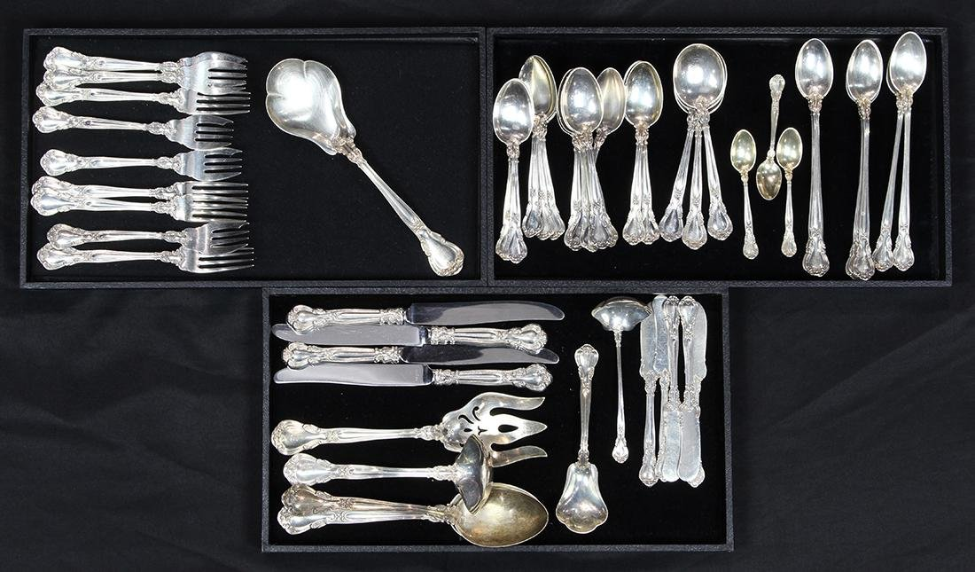 (lot of 54) Gorham sterling silver partial flatware