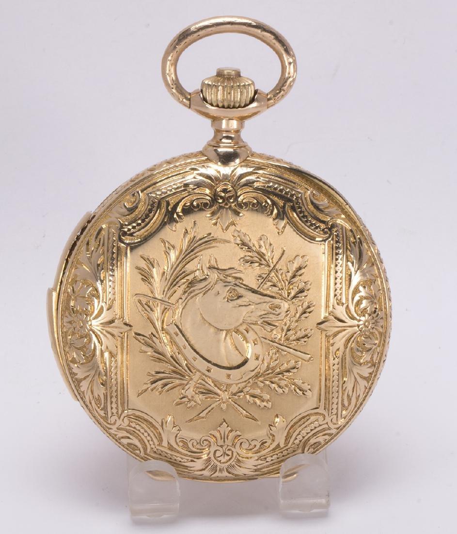 La Esmeralda 18k yellow gold minute repeater pocket - 3