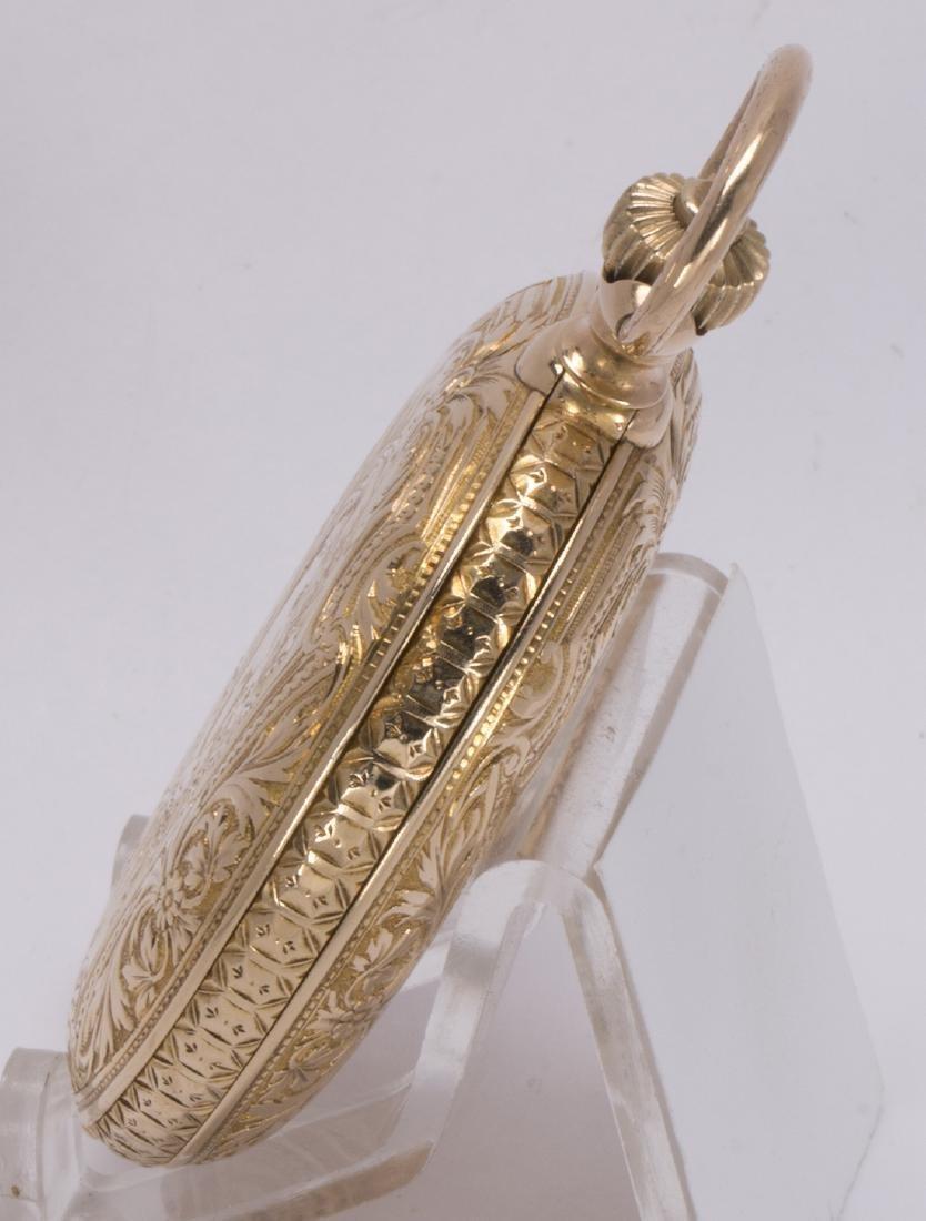 La Esmeralda 18k yellow gold minute repeater pocket - 4