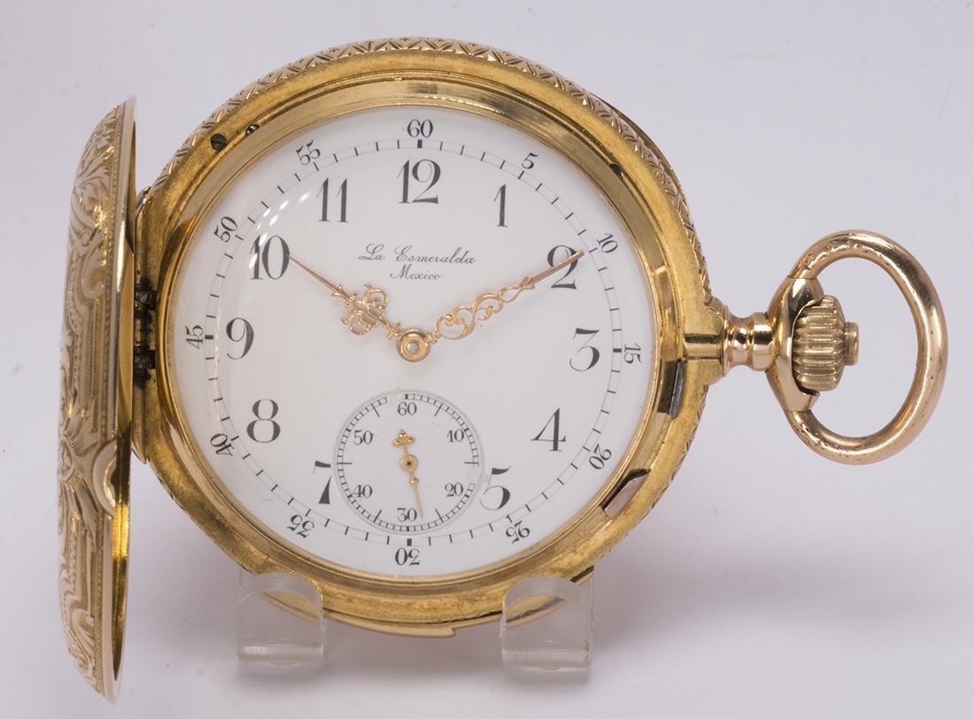 La Esmeralda 18k yellow gold minute repeater pocket - 5