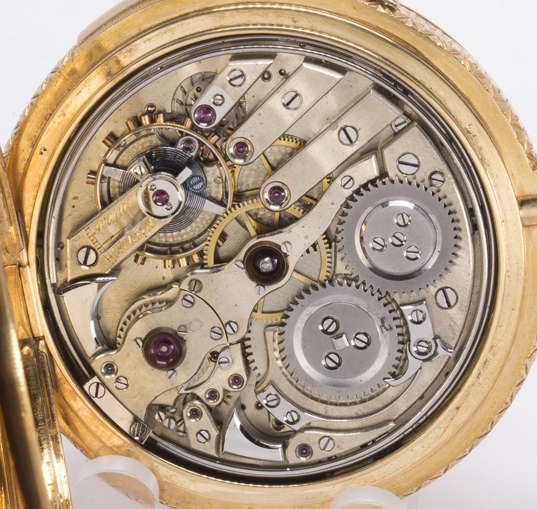 La Esmeralda 18k yellow gold minute repeater pocket - 8