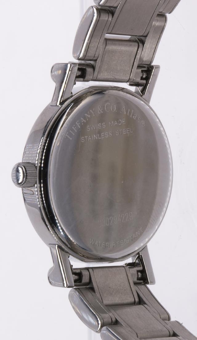 Lady's Tiffany & Co. Atlas stainless steel wristwatch - 3