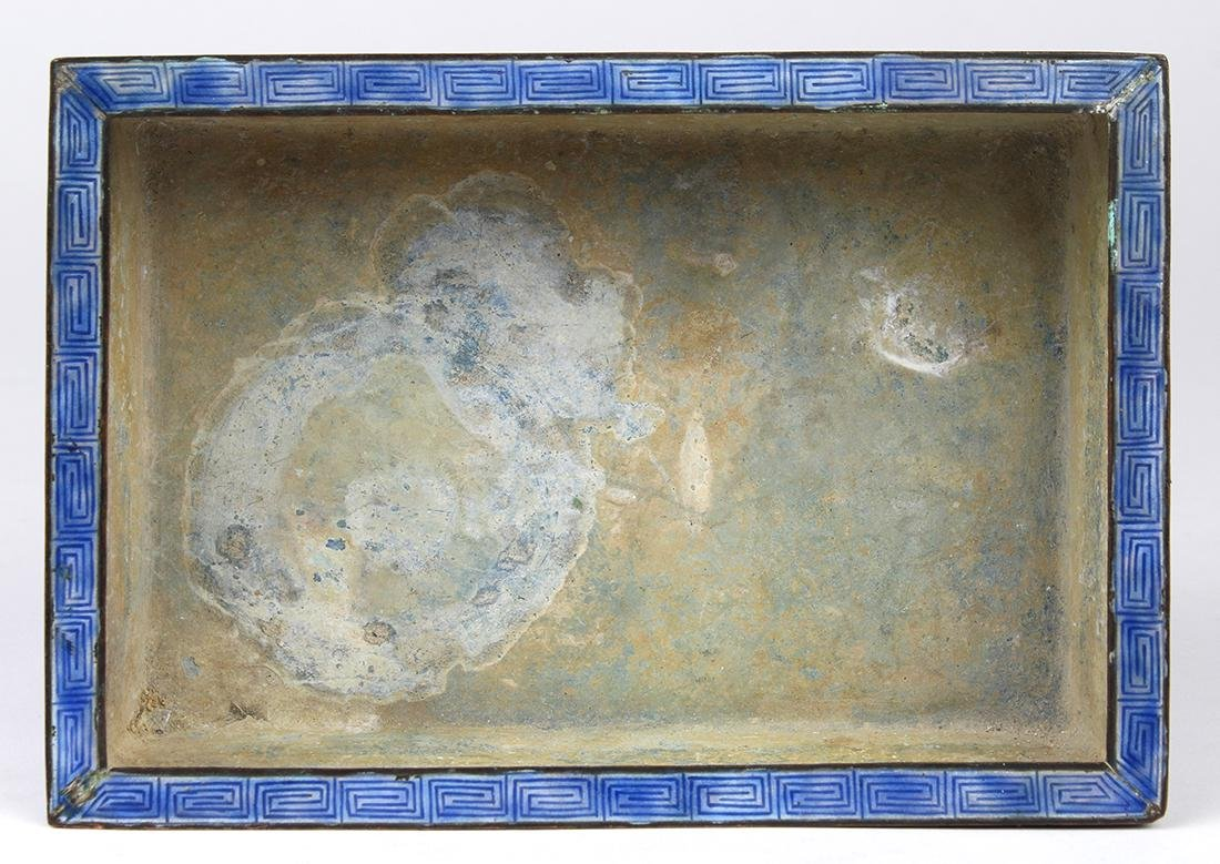 Chinese Enameled Bulb Container - 5
