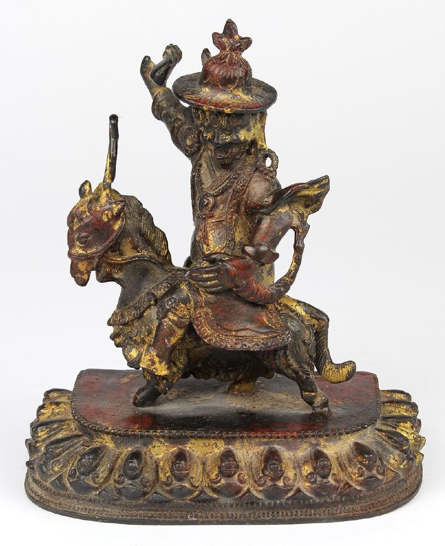 Sino-Tibetan Bronze of Dorge Legpa
