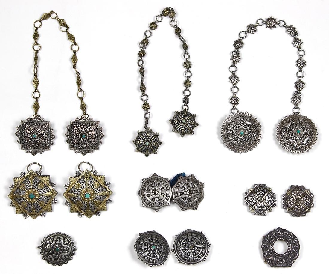 Himalayan Garment Pins/Buckles