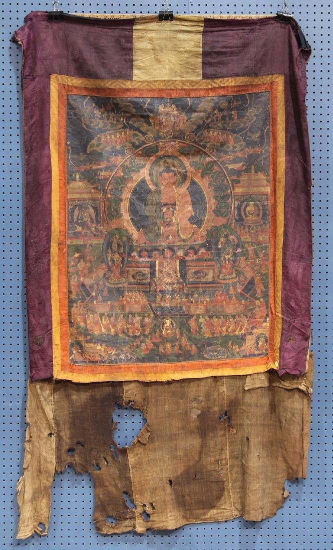 Himalayan Thangka, Amitabha
