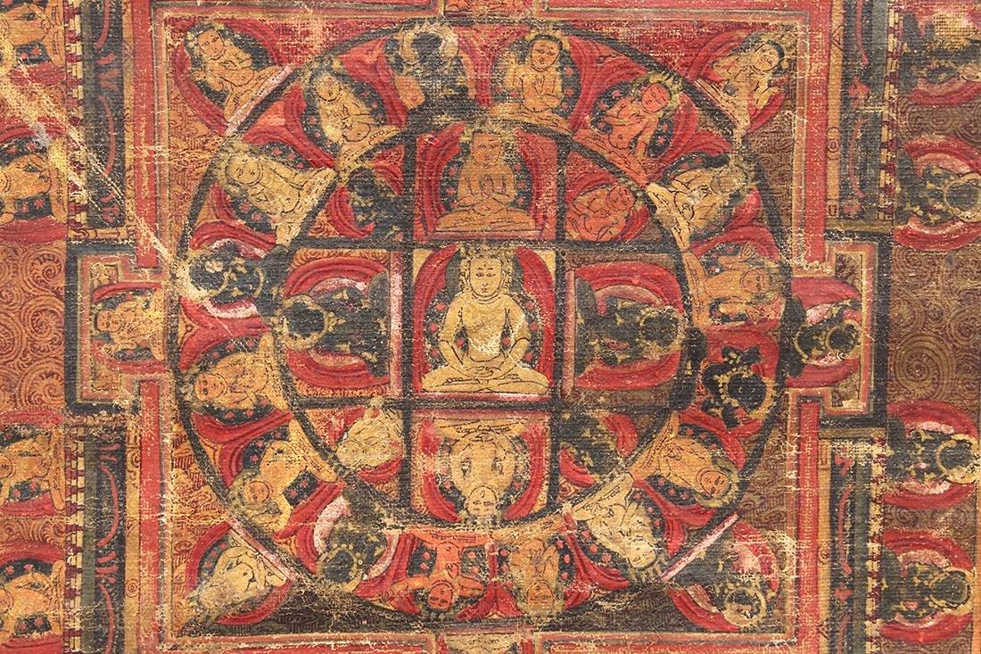 Himalayan Thangka, Vairocana Mandala - 3