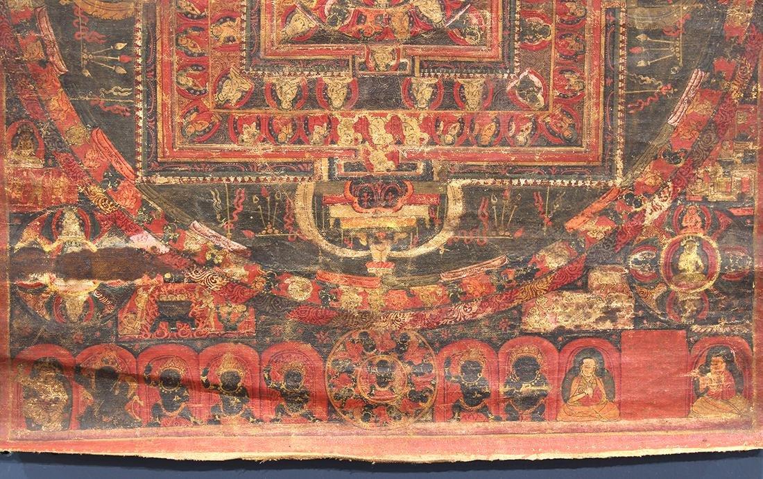 Himalayan Thangka, Vairocana Mandala - 6