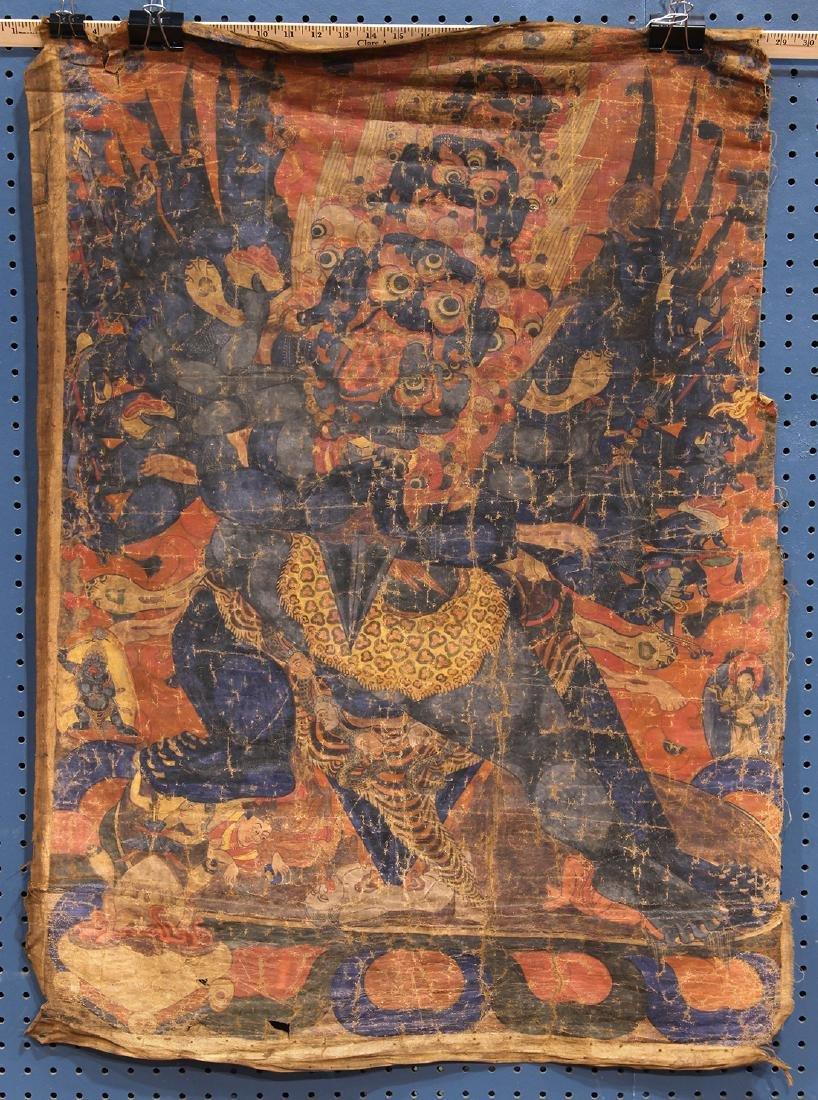 Himalayan Thangka, Mahakala