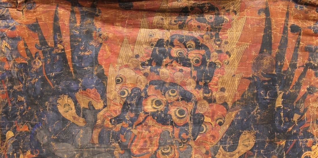 Himalayan Thangka, Mahakala - 4