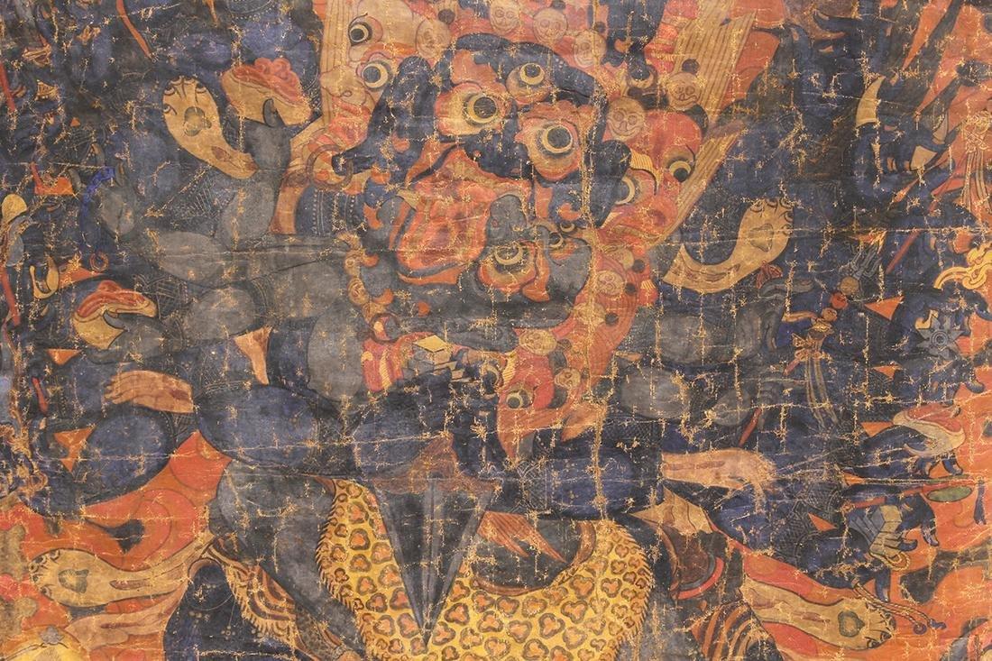 Himalayan Thangka, Mahakala - 5