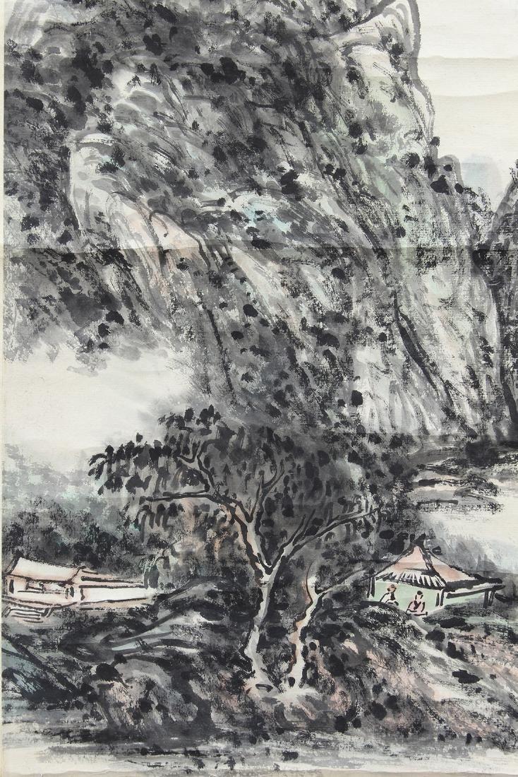 Chinese Scroll, Manner of Huang Binhong, Landscape - 4