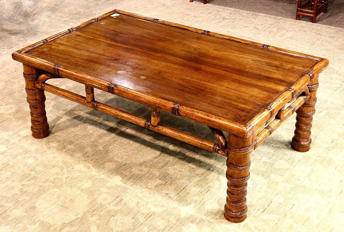 Asian Wood Low Table