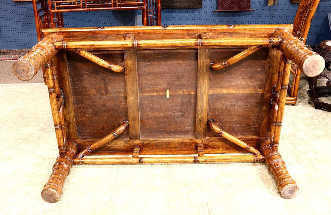 Asian Wood Low Table - 4