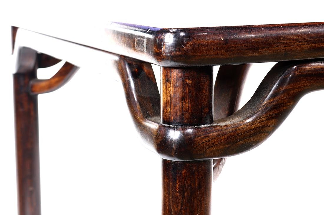 Chinese Wood Square Table - 4