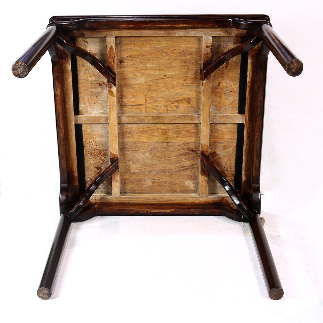 Chinese Wood Square Table - 6