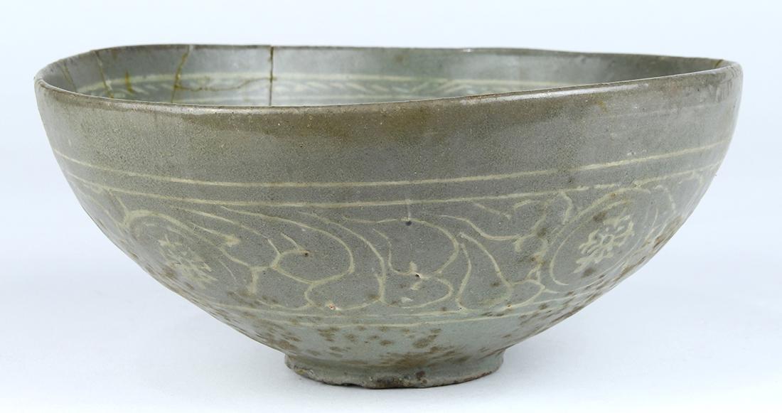 Korean Celadon Bowl, Phoenix