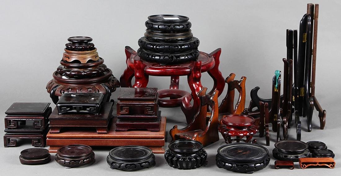 Chinese Wood Stands