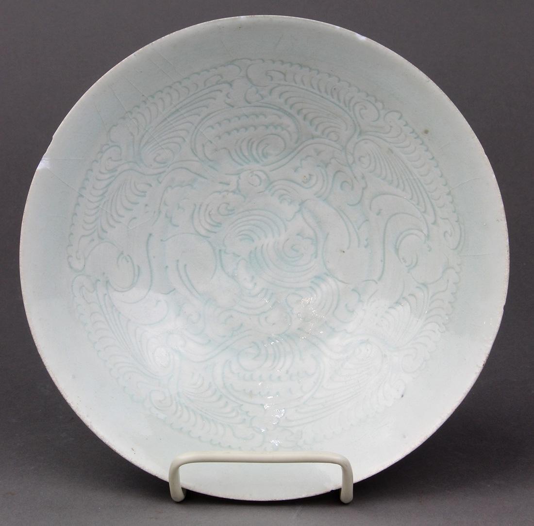 Chinese Yingqing Glazed Bowl