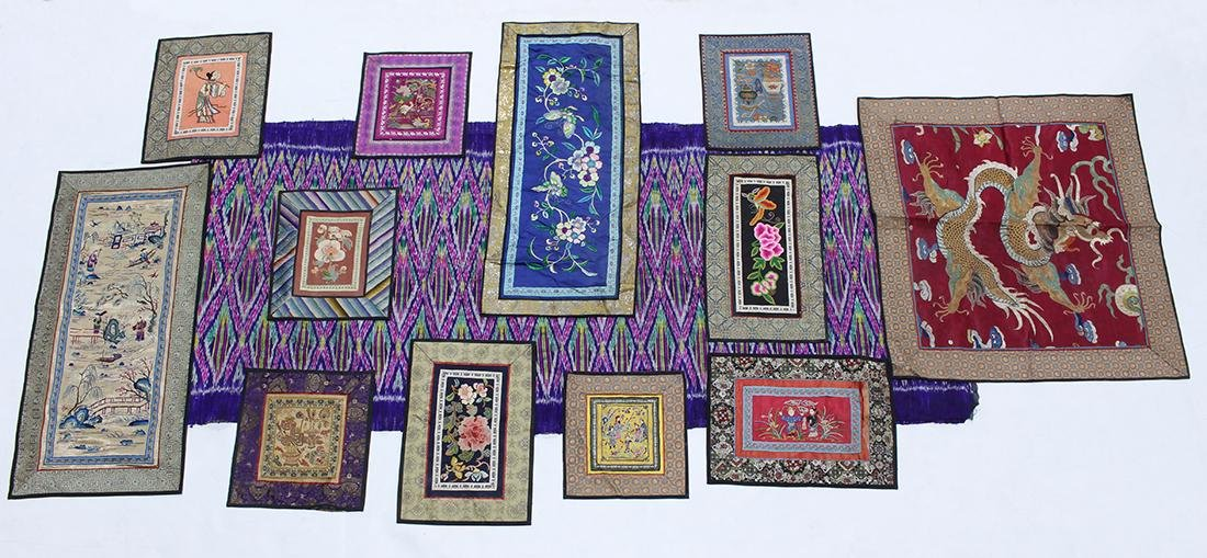 Group of Asian Textiles